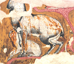 Ibex and Dog from the Tomb of Qenamun