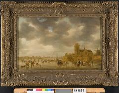 IJstafereel bij Dordrecht