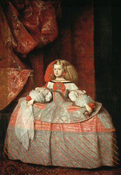 Infanta Margarita Teresa in a Pink Dress