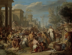 Jeroboam Sacrificing to the Idols