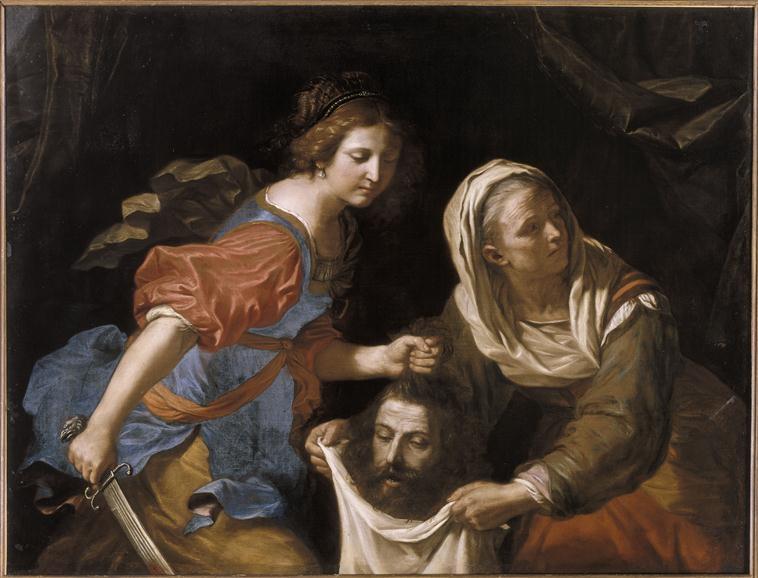 Judith tenant la tête d'Holopherne