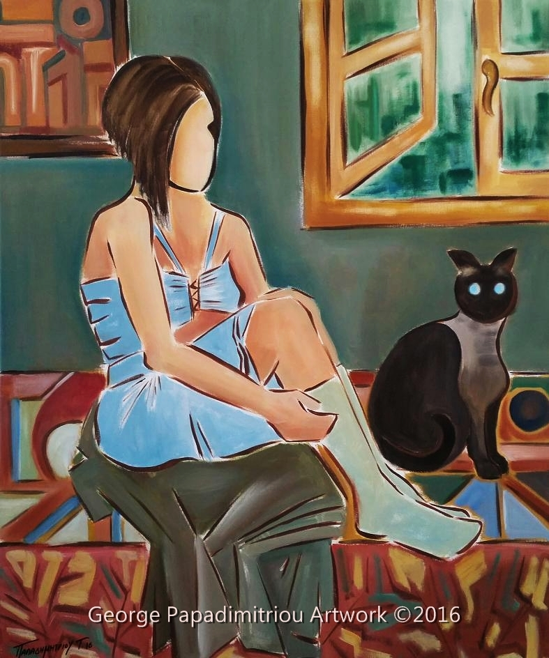 Katerina & the cat