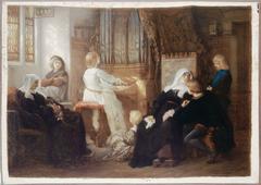 La veuve du maître de chapelle