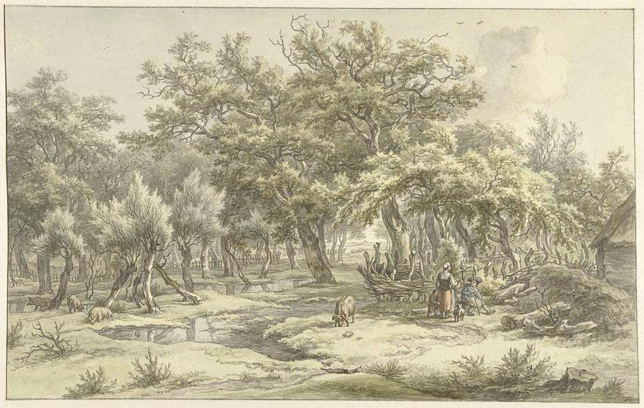 Landschap bij Eext (Drenthe)