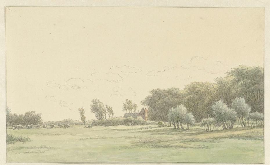 Landschap in de omgeving van Wageningen