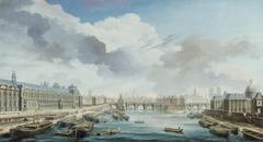 Le Louvre, le Pont-Neuf et le Collège des Quatre-Nations
