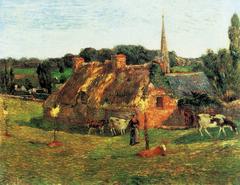 Lollichon Field and Pont-Aven Church