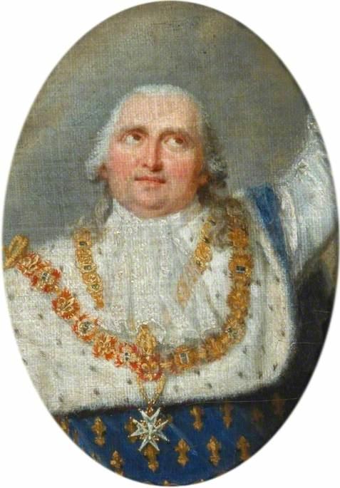 Louis XVIII (1755-1824), Receiving the Crown of Henri IV