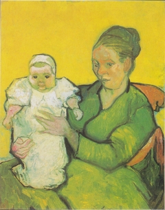 Portrait of Madame Augustine Roulin with Baby Marcelle