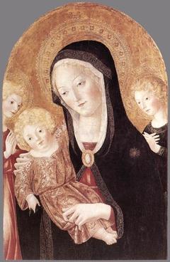 Madonna col Bambino e due angeli