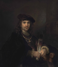 Man with a Sword and Beret