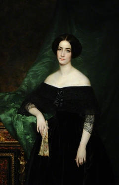 Mary Matthews, Madame Julien-Francois-Bertrand de La Chere (1824-1890)
