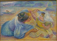 Mère jouant avec son enfant