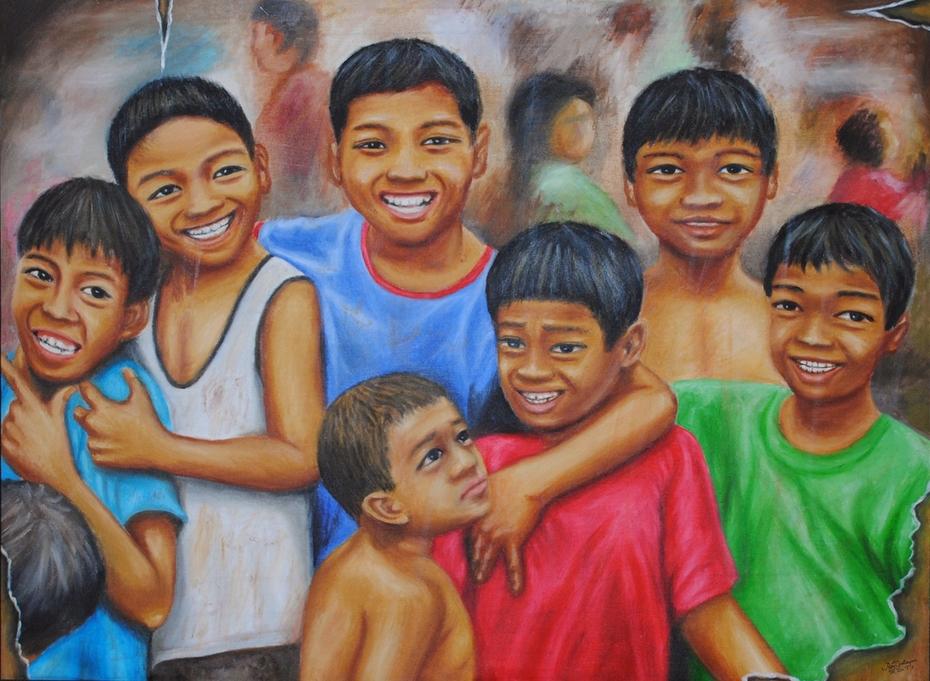 Mga ngiti na may nakakubli (Behind the smiles)