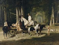 Monsieur et Madame Mosselman et leurs deux filles