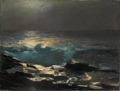 Moonlight, Wood Island Light