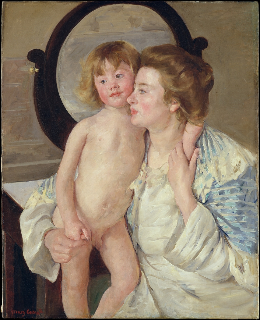 Mother and Child (The Oval Mirror)