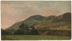 Mountainous Landscape at Tivoli