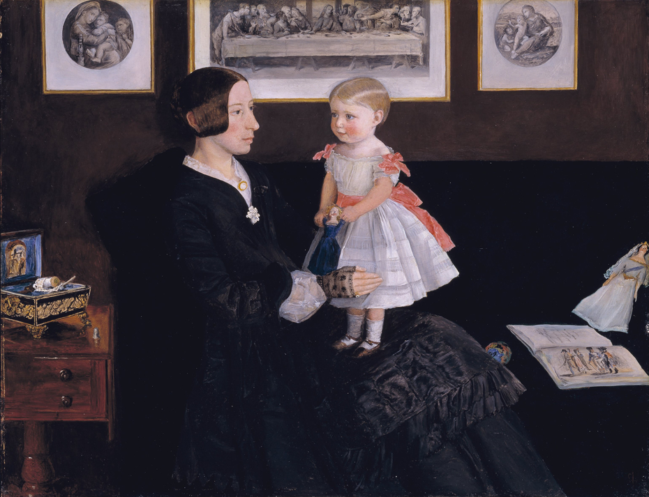Mrs James Wyatt Jr and her Daughter Sarah
