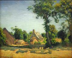 Paysage à Melleray, Mayenne