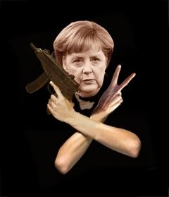 Peace.Police / Merkel