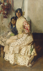 Pepilla the Gypsy and Her Daughter