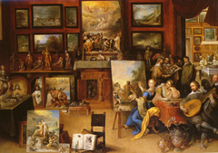 Pictura, Poesis and Musica in a Pronkkamer
