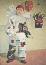 Pierrot e le maschere / Pierrot and masks