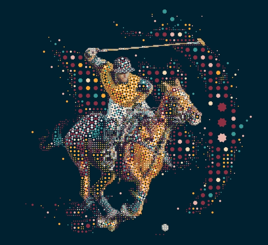 Polo with the stars...