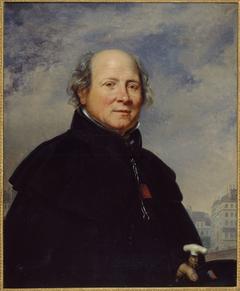 """Portrait d'Edme Champion, dit l'""""homme au petit manteau bleu"""" (1764-1852), philanthrope"""