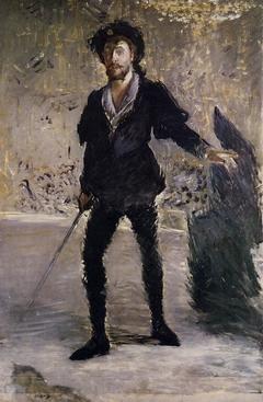 Portrait en pied de Faure en Hamlet