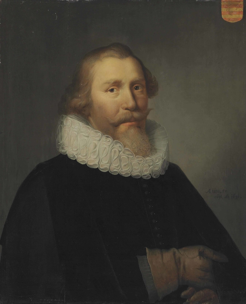 Portrait of a man with a ruff