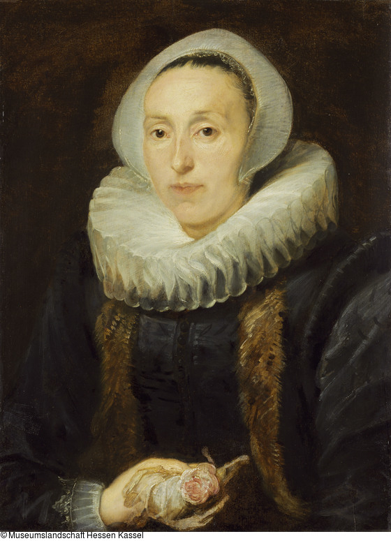 Portrait of a Woman with a Rose