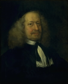 Portrait of Adam Olearius, Librarian to the Court at Gottorp