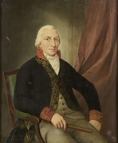 Portrait of Albertus Henricus Wiese, Governor-General of the Dutch East Indies