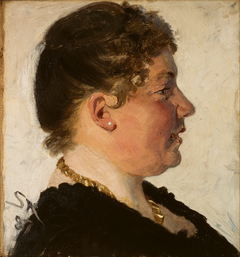 Portrait of Beatrice Diderichsen.