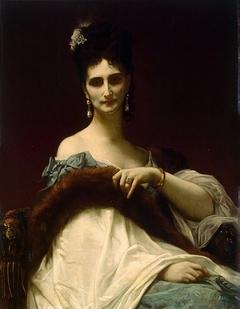 Portrait of Countess de Koller (nee Maria Riznich)