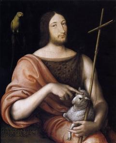 Portrait of François I as St John the Baptist