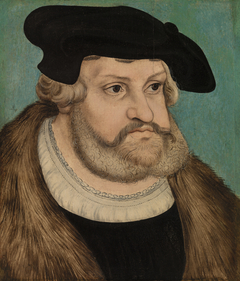 Portrait of Frederick the Wise, Duke of Saxony