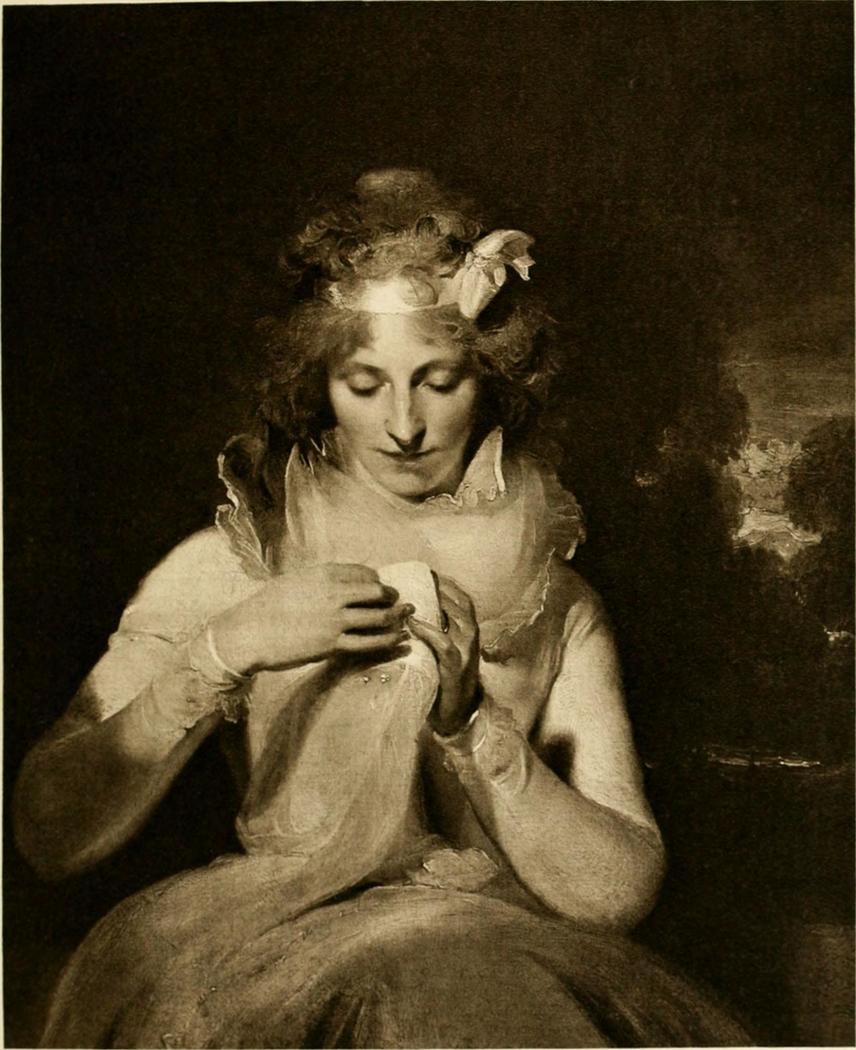 Portrait of Georgina Lennox, later Countess Bathurst