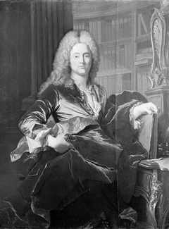 Portrait of High Court Judge Peder Benzon Mylius