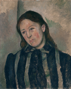 Portrait of Madame Cézanne with Loosened Hair