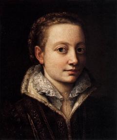 Portrait of Minerva Anguissola