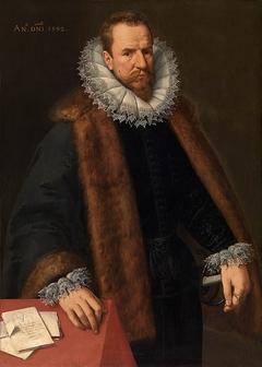 Portrait of Nicolas de Hellincx, counselor of the king