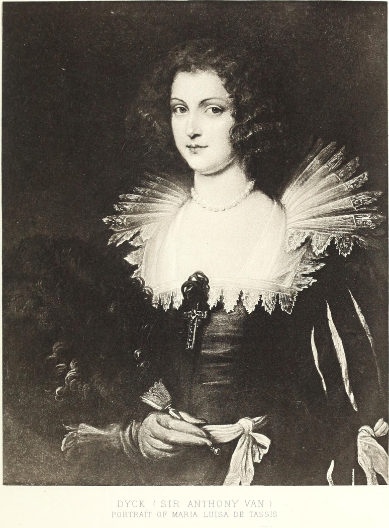 Portrait of Princess Maria Luisa de Tassis