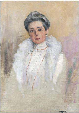Portrait of Princess Zinaida Nikolayevna Yusupova