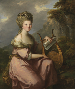 Portrait of Sarah Harrop (Mrs. Bates) as a Muse