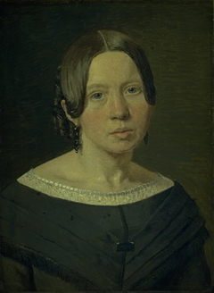 Portrait of the Artist´s Sister-in-Law Johanne Elisabeth Købke, née Sundbye