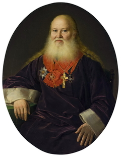 Portrait of the Priest V.I. Kutnevich