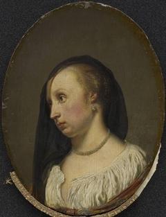 Portrait of the Wife of the Artist, Cunera van der Cock